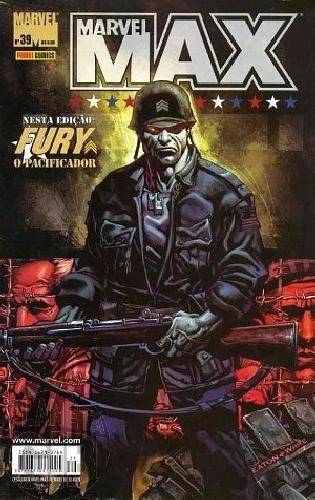 Marvel Max [Panini - 1ª série] nº 039 nov/2006 - Viúva Negra | Fury | Esquadrão Supremo