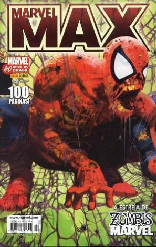 Marvel Max [Panini 1ª série] nº 041 jan/2007 Zumbis Marvel, Justiceiro, Fury, Esquadrão Supremo