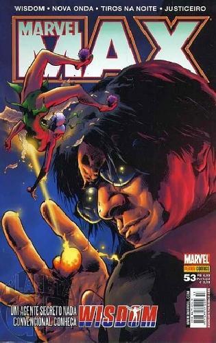 Marvel Max [Panini 1ª série] nº 053 jan/2008 Justiceiro, Tiros na Noite, Wisdom, Nova Onda