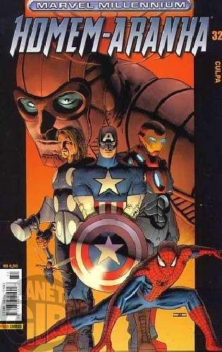 Marvel Millennium Homem-Aranha [Panini - 1ª série] nº 032 ago/2004