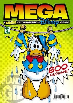 Mega Disney nº 005 mar/2015 - O Maior Gibi Disney do Mundo