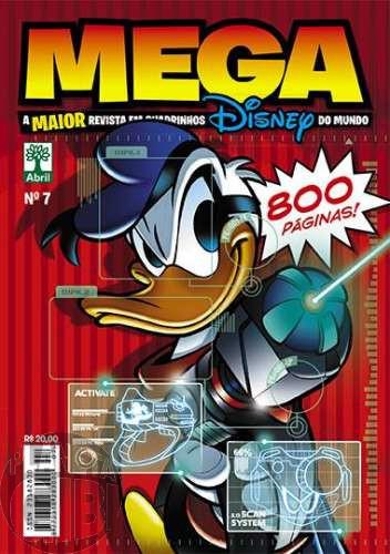 Mega Disney nº 007 dez/2014 - O Maior Gibi Disney do Mundo