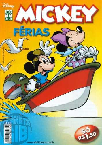 Mickey Férias nº 004 mai/2010