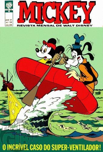 Mickey nº 158 dez/1965 - Vide detalhes