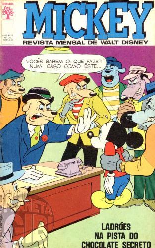 Mickey nº 195 jan/1969 - Vide detalhes
