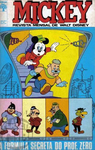 Mickey nº 201 jul/1969