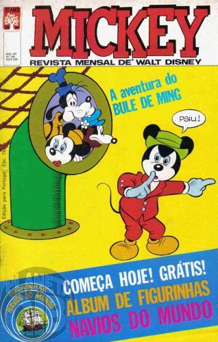 Mickey nº 208 fev/1970 - Vide detalhes
