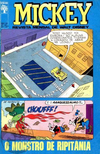 Mickey nº 232 fev/1972 - Vide detalhes