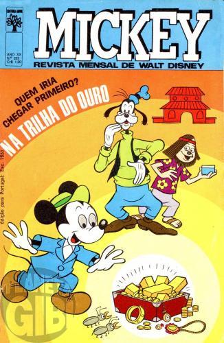 Mickey nº 233 mar/1972 - Vide detalhes