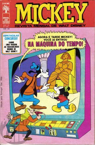 Mickey nº 235 mai/1972