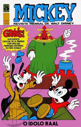 Mickey nº 274 ago/1975