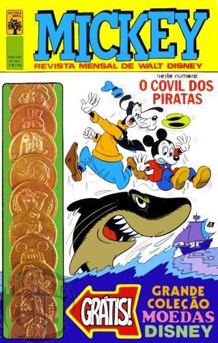 Mickey nº 301 nov/1977