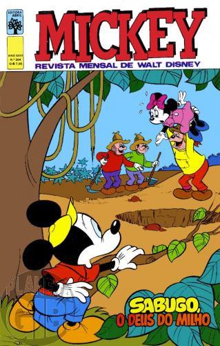 Mickey nº 304 fev/1978