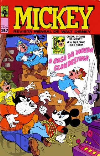 Mickey nº 317 mar/1979