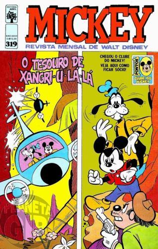 Mickey nº 319 mai/1979