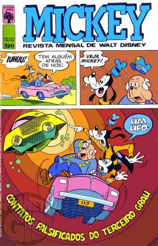 Mickey nº 320 jun/1979