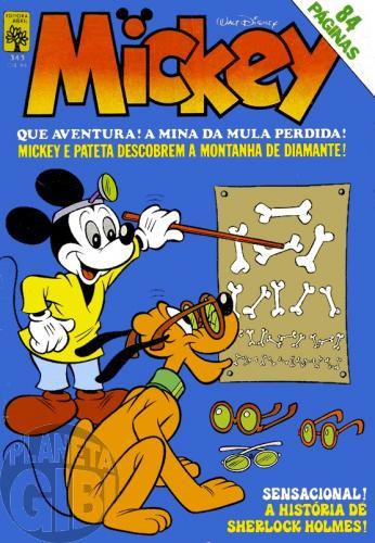 Mickey nº 343 mai/1981