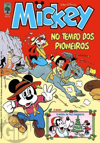 Mickey nº 350 dez/1981 - Vide detalhes