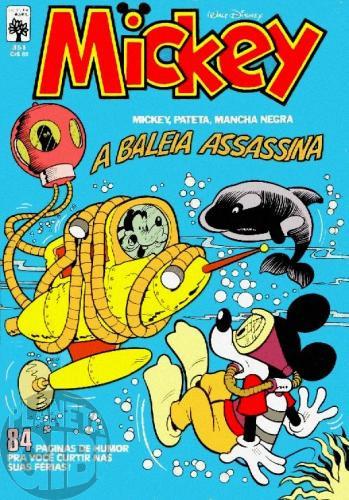 Mickey nº 351 jan/1982 - Vide detalhes