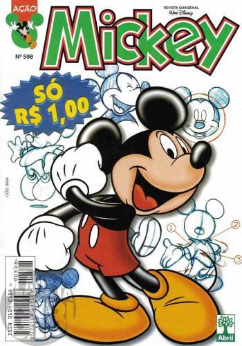 Mickey nº 598 jul/1999