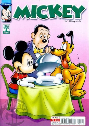Mickey nº 722 mai/2004