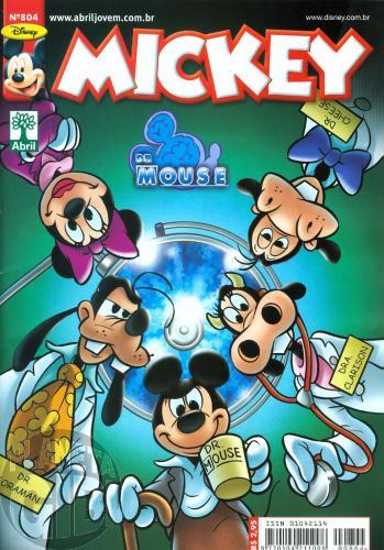 Mickey nº 804 set/2009