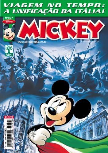 Mickey nº 827 ago/2011