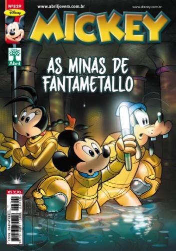 Mickey nº 829 out/2011 - Casty