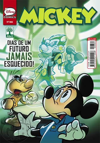 Mickey nº 866 out/2014