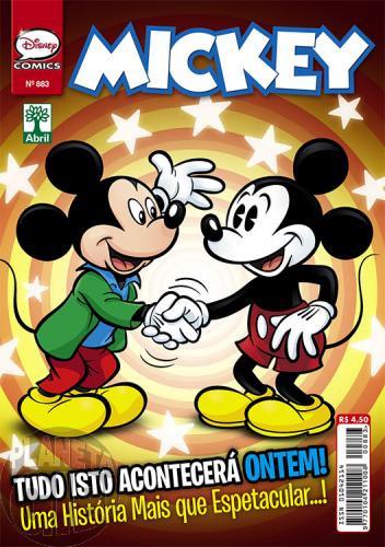 Mickey nº 883 mar/2016 - Casty