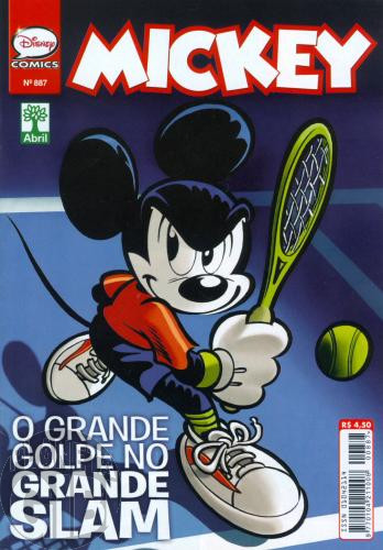 Mickey nº 887 jul/2016 - O Golpe do Grande Slam