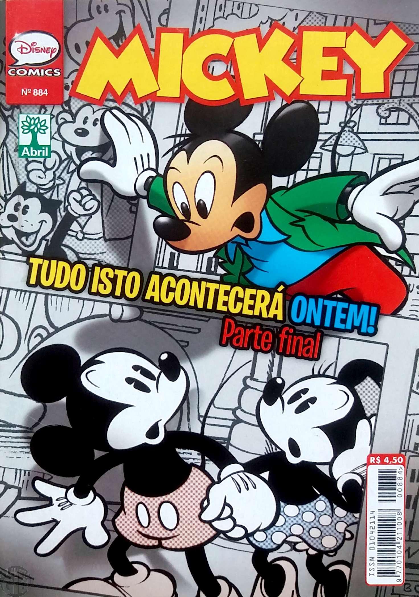 Mickey nº 884 abr/2016