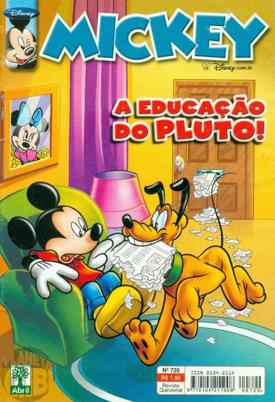 Mickey nº 720 abr/2004 - Vide Detalhes