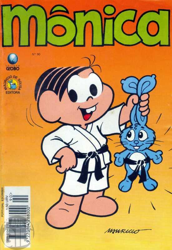 Mônica [2ª série - Globo] nº 090 jun/1994