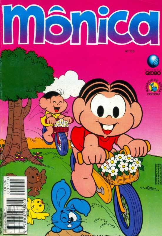 Mônica [2ª série - Globo] nº 110 fev/1996