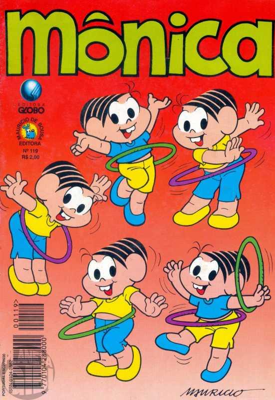 Mônica [2ª série - Globo] nº 119 nov/1996