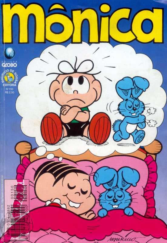 Mônica [2ª série - Globo] nº 150 abr/1999