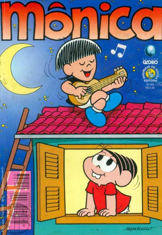 Mônica [2ª série - Globo] nº 153 jul/1999