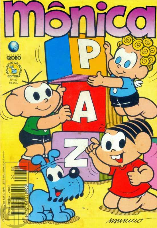 Mônica [2ª série - Globo] nº 159 dez/1999