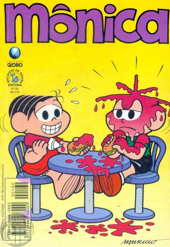 Mônica [2ª série - Globo] nº 162 mar/2000
