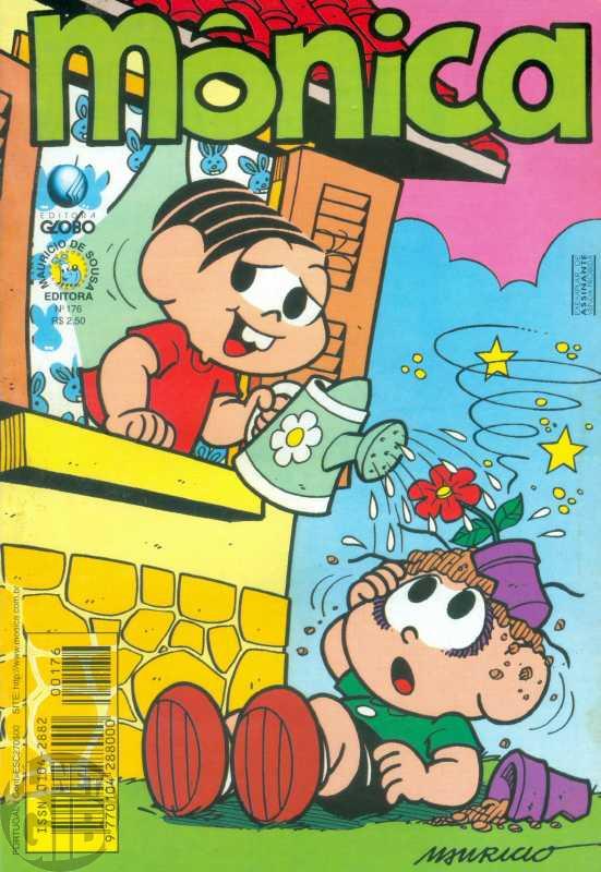 Mônica [2ª série - Globo] nº 176 abr/2001