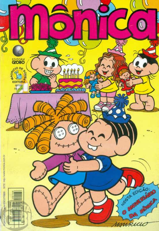 Mônica [2ª série - Globo] nº 188 mar/2002