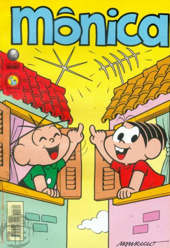 Mônica [2ª série - Globo] nº 192 jul/2002