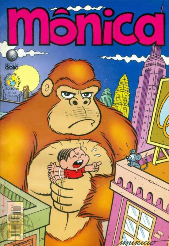 Mônica [2ª série - Globo] nº 193 ago/2002
