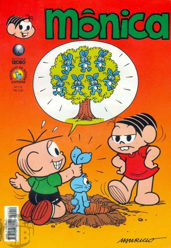 Mônica [2ª série - Globo] nº 210 dez/2003