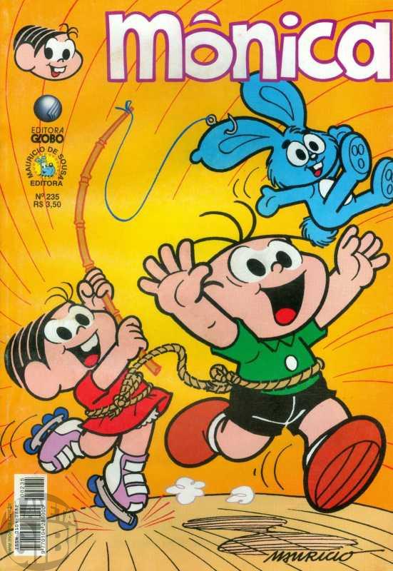 Mônica [2ª série - Globo] nº 235 jan/2006