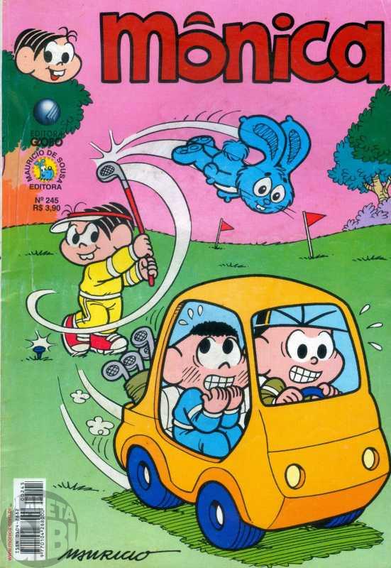Mônica [2ª série - Globo] nº 245 nov/2006
