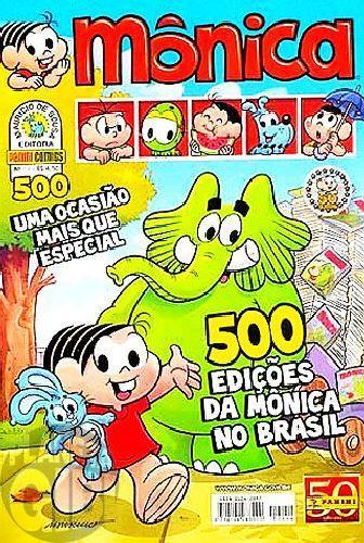 Mônica [3ª série - Panini] nº 054 jun/2011 - 500 Edições da Mônica no Brasil