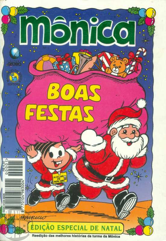 Mônica Especial de Natal [1ª série - Globo] nº 001 nov/1995