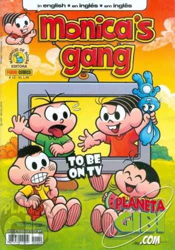 Monica's Gang nº 012 nov/2010 - Revista em Inglês - To Be on TV